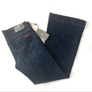 7 For All Mankind Dojo Jeans29 ShortDarkWide